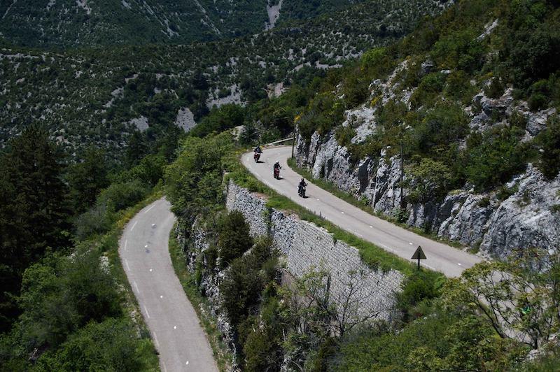 balades moto Gorges de l'Hérault