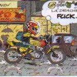 Rouler sous la pluie en moto
