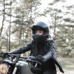 Le regard en moto